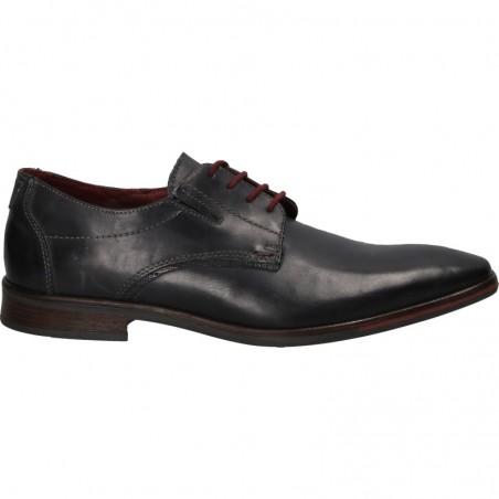 Pantofi barbatesti, business, albastri, piele