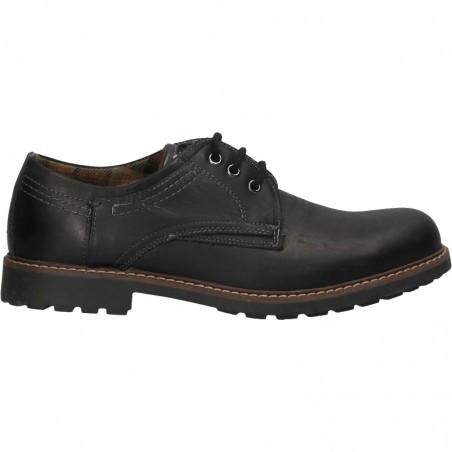 Pantofi robusti, casual, piele naturala