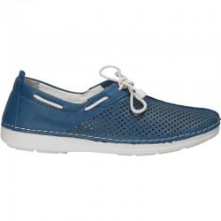 Pantofi femei, piele naturala, slip on