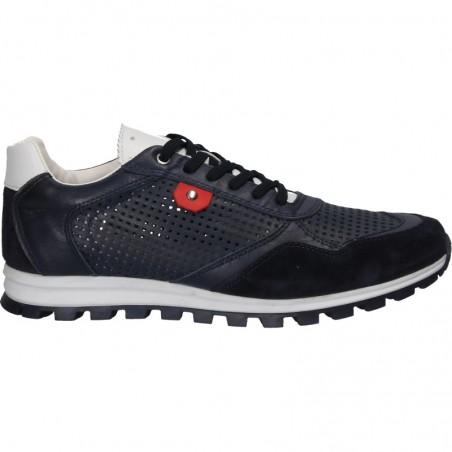 Pantofi sneakers, de vara, piele, pentru barbati