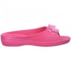 Papuci roz, din spuma, pentru femei