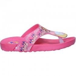Slapi roz, cu printesa, pentru fetite