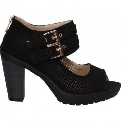 Sandale fashion, femei, toc mediu