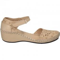 Pantofi, stil boho, piele naturala