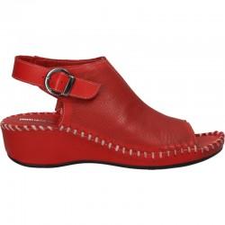 Sandale piele naturala, cusute manual