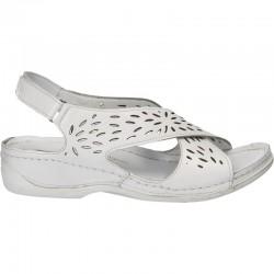 Sandale casual, din piele, pentru femei