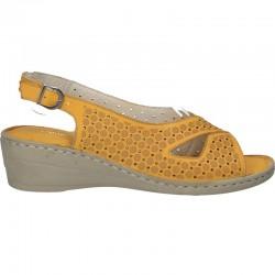 Sandale de dama, clasice, cu platforma