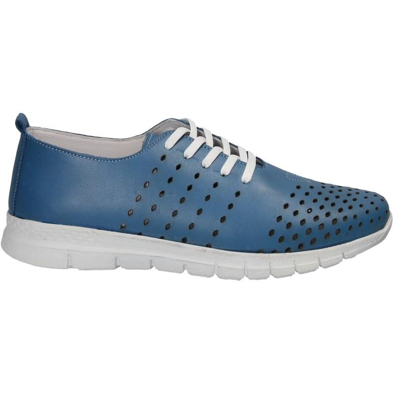 Pantofi sneakers, de dama, din piele