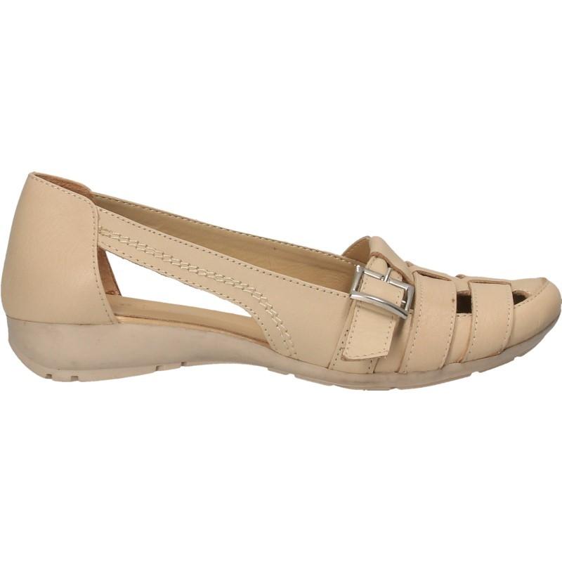 Pantofi vara, piele, pentru femei