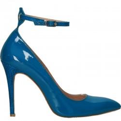 Pantofi eleganti, dama, piele turcoaz