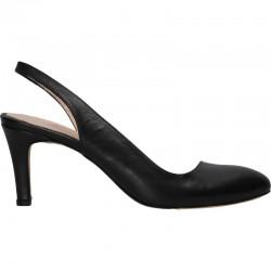 Pantofi decupati de vara, piele naturala