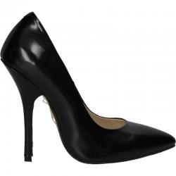 Pantofi cu toc stiletto, piele naturala