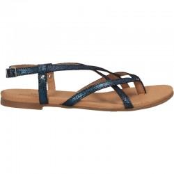 Sandale glamour, flip flops, piele