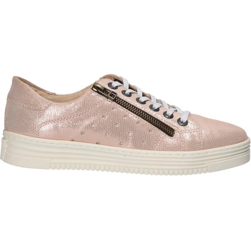 Sneakers moderni, de dama, piele
