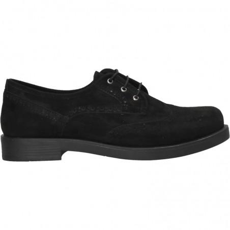 Pantofi casual, femei, culoarea neagra