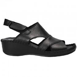 Sandale, piele, cusute manual