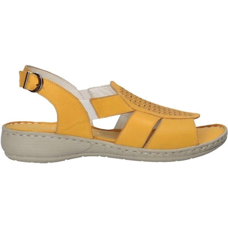 Sandale de dama, din piele, stil clasic