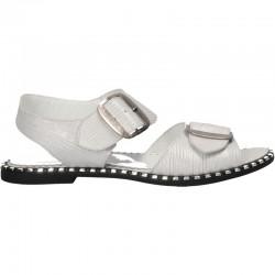Sandale fashion, fara toc, piele