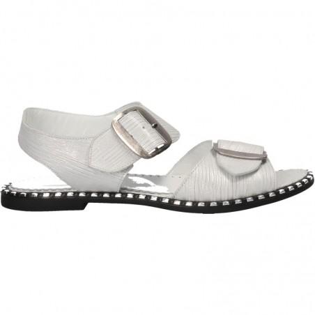 Sandale fashion, fara toc, piele naturala