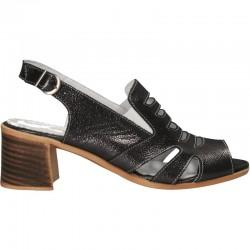 Sandale elegante, piele, de dama