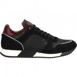 Sneakers urbani, barbatesti, piele textil