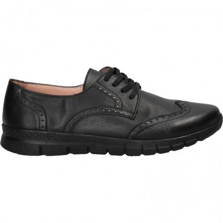 Pantofi dama, stil Oxford, piele naturala