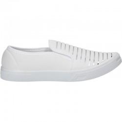 Espadrile trendy, albe, pentru femei