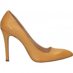 Pantofi clasici, de dama, piele naturala