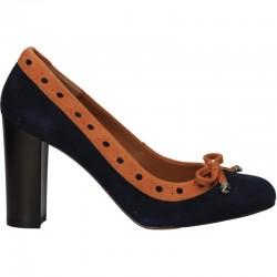 Pantofi trendy, femei, din piele