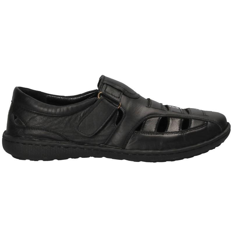 Pantofi tip sanda, piele, pentru barbati