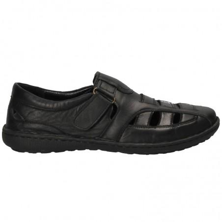 Pantofi tip sanda, din piele, pentru barbati