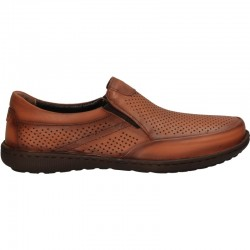 Pantofi fara siret, barbatesti, din piele