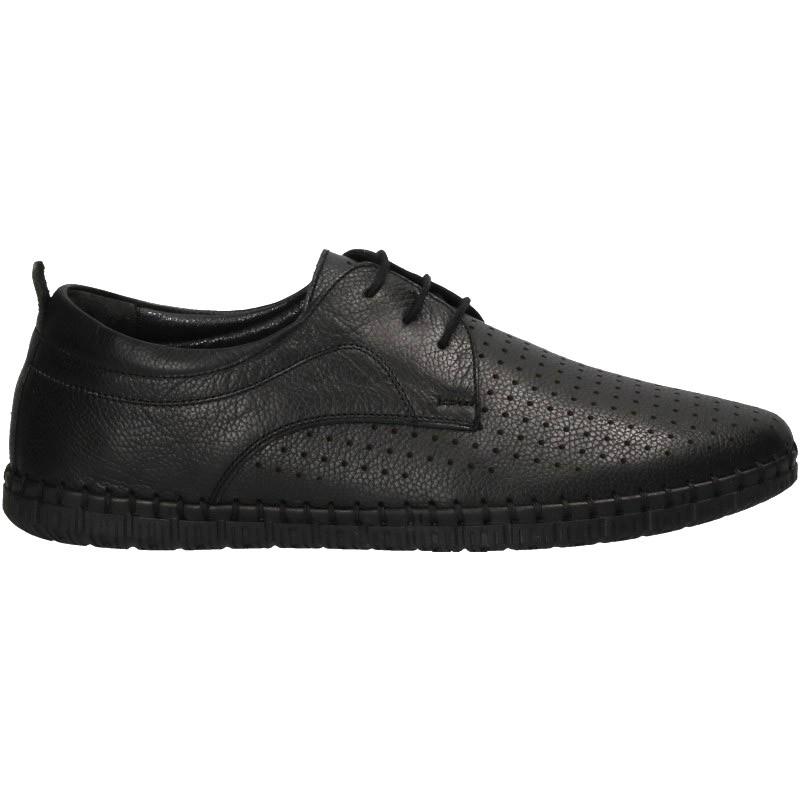 Pantofi trendy, barbatesti, din piele
