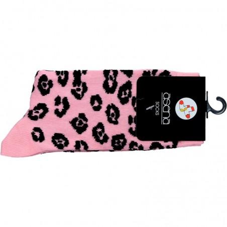 Ciorapi lungi, roz, pentru femei