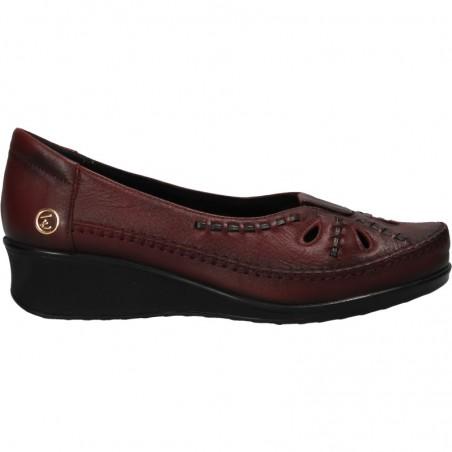 Pantofi motiv traditional, platforma mica