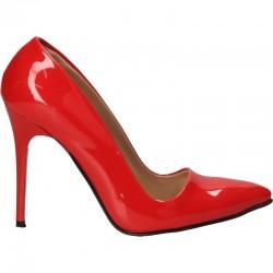 Pantofi de gala, rosii, stiletto