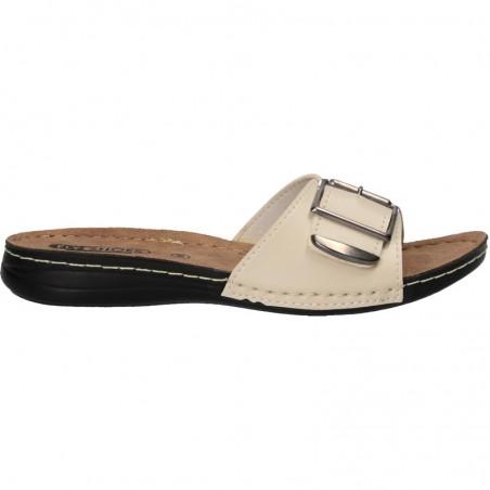 Papuci femei, moderni, cu catarama