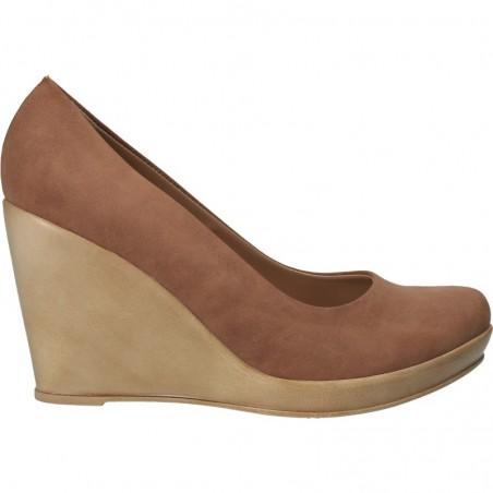 Pantofi clasici, de dama, cu platforma