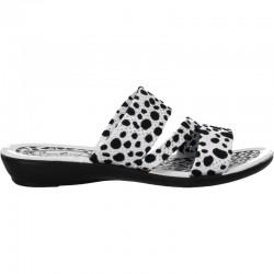 "Papuci dama moderni, ""dalmatian"""