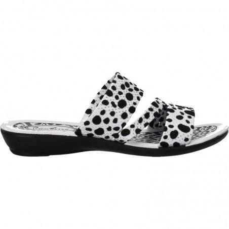"""Papuci dama moderni, imprimeu """"dalmatian"""""""
