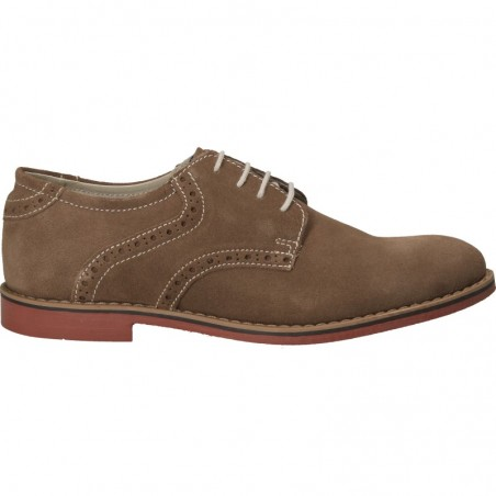Pantofi barbatesti, stil Oxford, din velur