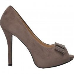 Pantofi eleganti, de vara, cu toc inalt