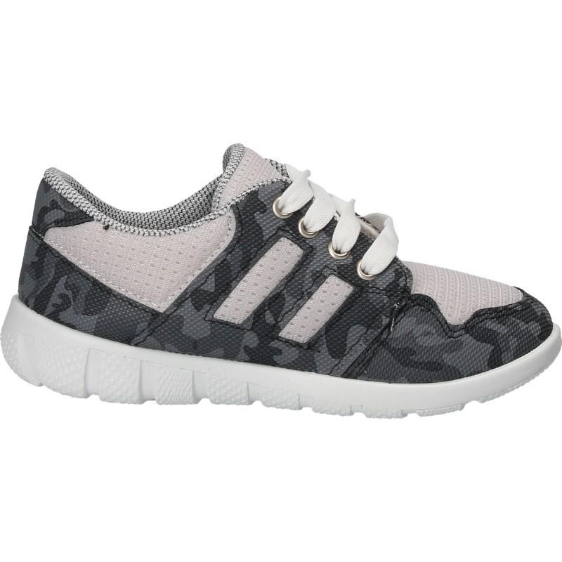 Pantofi camuflaj gri, pentru copii
