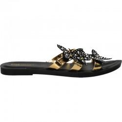 Papuci fashion, cu fluturi, pentru femei