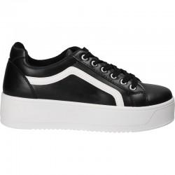 Sneakers de dama, cu talpa inalta