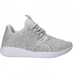 Sneakers dama, tricot, culoarea gri