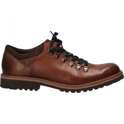 Pantofi trekking, barbatesti, piele naturala