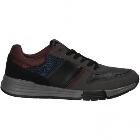 Sneakers barbatesti, culoare gri