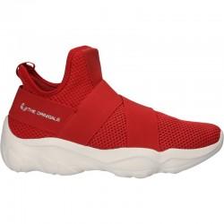 Pantofi sport barbatesti, culoarea rosie