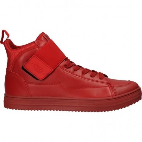 Ghete sneakers, rosii, pentru barbati